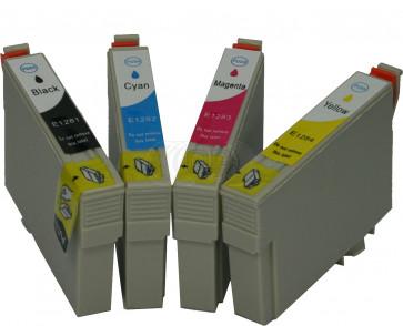 Epson T1281 Discount set + chip (own brand)