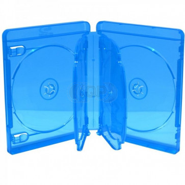 Blu-ray Disc box for 6 discs blue 5 pieces