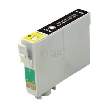 Epson T0801 inktcartridge zwart + chip (huismerk)