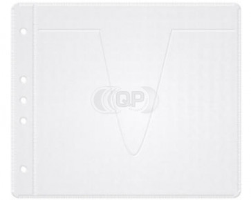 CD / DVD sleave for 2 Discs (files / multimaps etc.) white 50 pieces