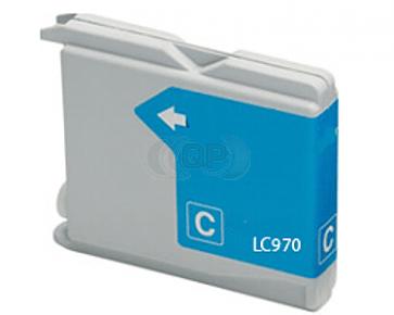 Brother LC-970 / LC-1000C inktcartridge cyaan (huismerk)