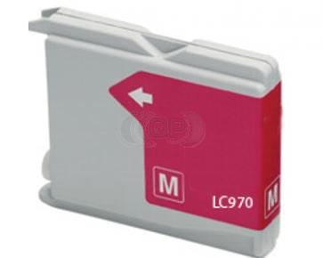 Brother LC-970 / LC-1000M inktcartridge magenta (huismerk)