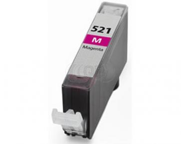 Canon CLI-521M inktcartridge magenta + chip (huismerk)