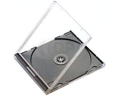 CD jewel case 10,4mm black budgetline+ 49 pieces