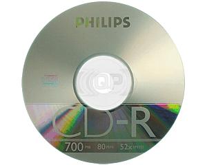 CD-R 52X Philips 100 pcs