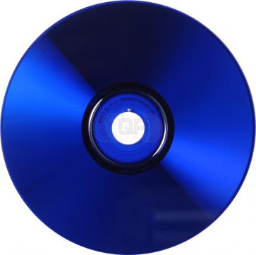 CD-R 80min Blue 25 pieces full white inkjet printable