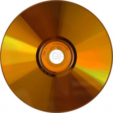 CD-R 80min Orange 25 pieces full white inkjet printable
