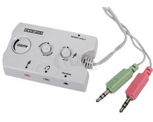 Headset / speaker audio switch