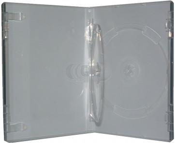 DVD box 14mm 2 dvds extra transparent professional quality 7 pieces