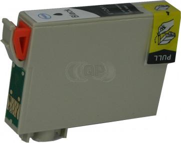 Epson T1281 inktcartridge zwart + chip (huismerk)