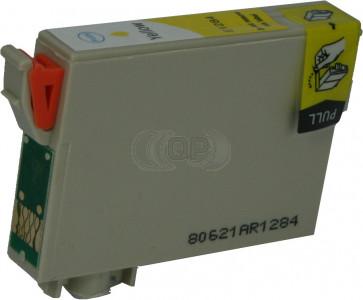 Epson T1284 inktcartridge geel + chip (huismerk)