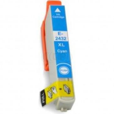 Epson 24XL (T2432) inktcartridge cyaan hoge capaciteit (huismerk)