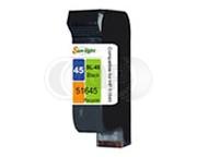 HP 45 (51645AE) inktcartridge zwart (huismerk)