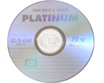 DVD+R 8.5GB 8X Platinum double layer 10 pieces
