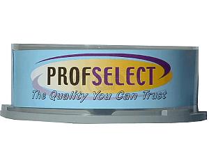 DVD+RW 4.7GB 2.4X Profselect 25 pieces