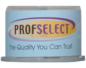 DVD-R 4.7GB 16X Profselect 50 pieces