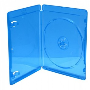 Blu-ray Disc box for 1 disc blue 5 pieces