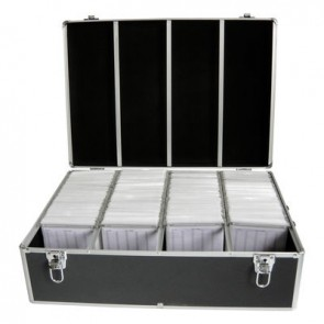 DJ case for 1000 disc's black