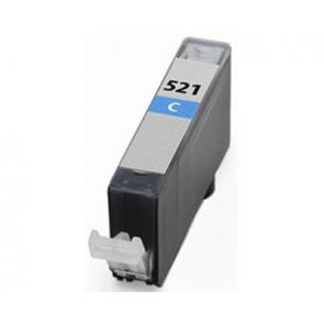 Canon CLI-521C inktcartridge cyaan + chip (huismerk)