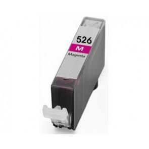 Canon CLI-526M inktcartridge magenta + chip (huismerk)