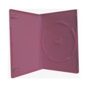 DVD box 14mm 1 DVD pink premiumline 10 pieces