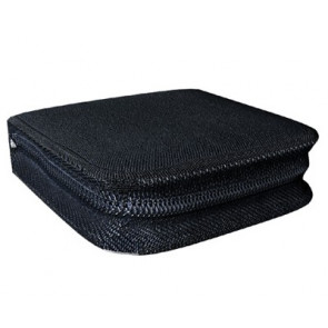 Storage pocket for 24 discs black