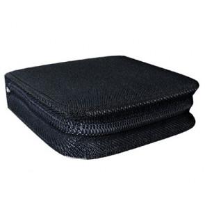 Storage pocket for 24 discs black