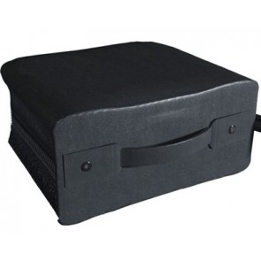 Storage pocket for 400 discs black