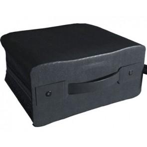 Storage pocket for 400 discs black