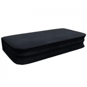 Storage pocket for 96 discs black