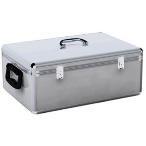 DJ case for 500 disc's silver