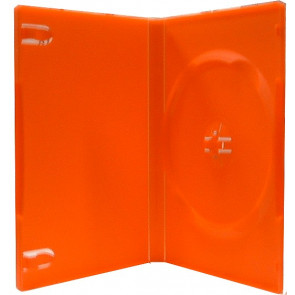 DVD case 14mm 1 dvd red mix 49 pcs recycling