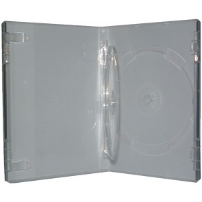 DVD box 14mm 2 dvds extra transparent professional quality 7 pieces