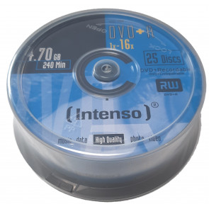 DVD+R 4.7GB 16X Intenso 25 stuks