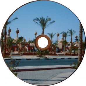 DVD-R 4.7GB 16X Profselect 50 pieces glossy full white inkjet printable