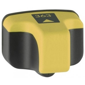 HP 363 (C8773EE) inktcartridge geel + chip (huismerk)