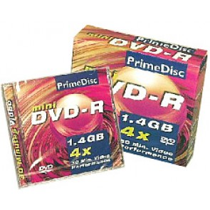 DVD-R mini 8cm Primedisc 12 pieces