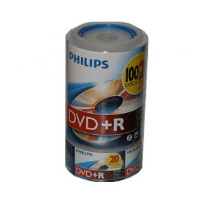 DVD+R 4.7GB 16X Philips 50 pieces