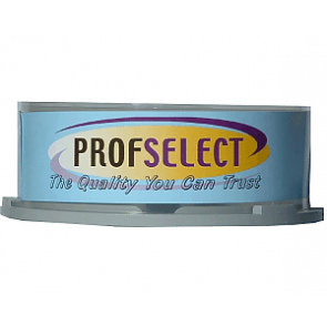 DVD+R 4.7GB 16X Profselect 25 pieces full white printable