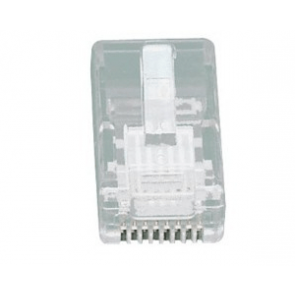 UTP RJ45 connector 5 pieces (round cable entry (UTP)