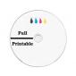 CD-R 90min 24X 25 pieces full white inkjet printable