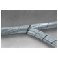 Cable cleanup band 12-70mm 10m transparent